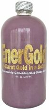EnerGold® Gold-Platinum-Silver-Based Monoatomic-Colloidal Gold ORMUS 8-Oz. Glass