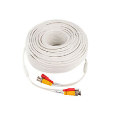 200' ft. High Quality Video Power BNC Cable for Lorex, Q-SEE CCTV Cameras White