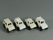 AUTOS: Geländefahrzeuge 1991 - Komplettsatz weiß