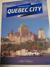Original Vintage 1996 QUEBEC CITY Ontario Canada in Pictures 64 pgs