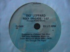 "DEF LEPPARD ""ROCK BRIDAGE"" SCORPIONS ""FALLING IN LOVE"" 3 SONG PROMO E.P. DJ 589"