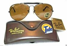 VINTAGE *NOS RAY-BAN B&L AVIATOR TIDE-NASCAR OUTDOORSMAN *TGM *NEW SUNGLASSES