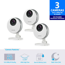 SNH-P6410BMR - 3-Pack Samsung Smartcam Full HD Wifi 1080p IP Camera Refurbished