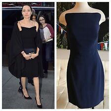 Antonio Berardi Angelina Jolie Celebrity Navy Dress $1,965