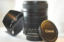 Canon EOS EF-S 18-135mm f/3.5-5.6 IS Stabilizer lens for T6 T5 T4 50D 60D 70D 7D
