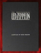 Led Zeppelin The Photographers Book ~ 1995 Hardcover ~ Jimmy Page Ross Halfin