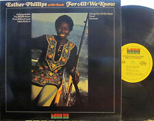 ► Esther Phillips - For All We Know  (Kudu 28) (with Joe Beck)