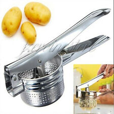 Kitchen Stainless Potato Ricer Masher Juicer Puree Fruit Vegetable Press Maker
