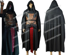 Star Wars Darth Revan Tunic Cape/Robe/Cloak Cosplay Costume Armor Suit Outfit