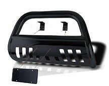 1999-2004 Jeep Grand Cherokee Classic Push Bull Bar in poder coated Black