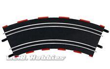 Carrera GO!!! Curve 3/45º for 1/43 slot car track, 4/pk 61645