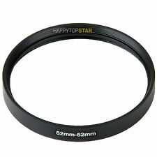 52-52 mm Female to Female 52mm to 52mm Coupling Ring Adapter Adaptor For Lens