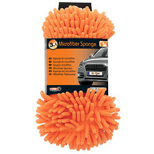 Mr.Kleen Microfiber Chenille Car Washing Brush Gloves Sponge Pad Glove