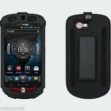 OEM Verizon Casio G'zOne Commando 4G LTE C811 Fitted Leather Case