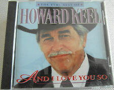 Howard Keel - The Very Best Of & I Love you so ( CD Album 2003 ) Used very good