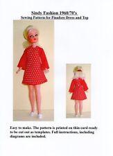 Sindy patrón de costura para Delantal Vestido y superior