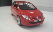2001 Peugeot 307 XSI red kinsmart TOY model 1/32 scale diecast Car