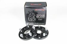 Super GT Hubcentric Bolt On Wheel Spacer 5x114 60.1 25mm M12x1.5 Toyota Lexus