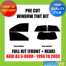 AUDI A3 3-DOOR 1996-2003 FULL PRE CUT WINDOW TINT KIT