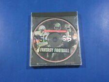 Franchise Football League Fantasy Football PC CD-ROM Game or Simulation 1995