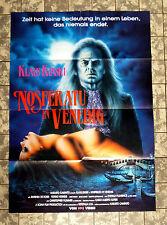 NOSFERATU IN VENEDIG * Klaus Kinski - VIDEO-POSTER - German 1-Sheet ´88 HORROR