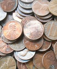 "100 COINS LOT - USA ( UNITED STATES OF AMERICA ) - 1 Cent ""Lincoln Memorial Cent"