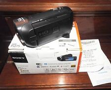 NEW Sony HDR-PJ275 Full-HD Zeiss Lens 8GB Handycam Camcorder Wi-Fi Projector