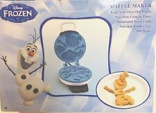 Waffle Maker Disney Olaf Frozen 800W Number of Waffles 1 set VERY FUN Breakfast