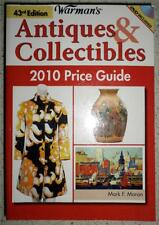 43rd Edition Warman's Antiques & Collectibles 2010 Price Guide w/Bonus DVD PS