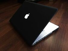 ●CUSTOM BLACK Apple MacBook PRO 15 ●750GB HDD●8GB RAM●Intel i5 @ 2.53GHZ●