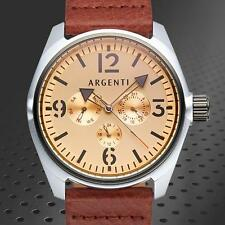 ARGENTI Modernistic Rose Gold Mens Watch 100% AUTHENTIC / MSRP $995.00