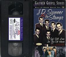 "J.D.SUMNER & THE STAMPS~""GOD STILL LIVES IN THIS OLD HOUSE""~97 VG/C VHS~20+ SONG"