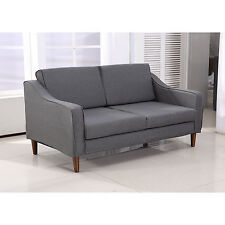 HOMCOM Sofa Chaise Lounger Living Room Couch Lounge Dorm Chair Modern Furniture