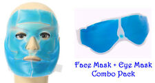 COOL GEL FACE MASK & COOL GEL EYE MASK (COMBO)