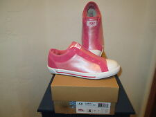 UGG AUSTRALIA K LAELA HIBISCUS YOUTH GIRLS SLIP-ON SNEAKERS SHOES SZ 5  NEW