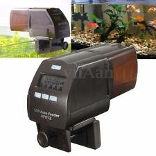 Auto Digital Fish Food Feeder Aquarium Pond Tank LCD Adjustable Feeding Timer