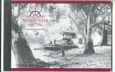 Australia-Murray Rivers Steamers-Prestige booklet mnh(SP10)