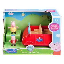 Peppa Pig Red Car Figure Mummy Toys Gift Play Doll TV Hobbies Movie Other Friend