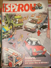 Spirou N° 3400 2003 BD Isidore Papyrus Les petits hommes Nelson Cupidon Adam