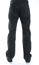 The Hundreds (T15P104084) Black Out Straight Fit Jeans - Black 36 Raw Selvedge