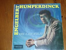 "ENGELBERT HUMPERDINCK *RARE 7"" E.P. ' THE LAST WALTZ ' 1967 GC-"