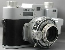 KODAK 35 with Rangefinder 35mm Vintage Film Camera Lens F3.5 50mm USA Very Clean