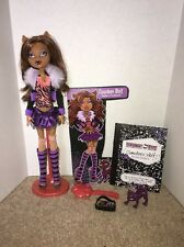 Monster High First Wave Clawdeen Wolf RARE DISCONTINUED