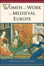 Women at Work in Medieval Europe-ExLibrary