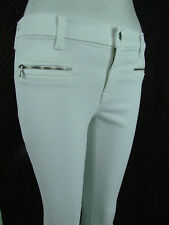 J BRAND 8033 PHOTO READY SKINNY CUFFED MidRise Zipper Women Jeans 27 BLANC WHITE