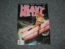 Heavy Metal Magazine May 1999 Volume 22 No.2 Caza Azpiri Dorian Cleavenger Royo