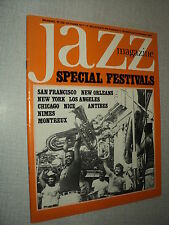 JAZZ  MAGAZINE 258 (10/77) DAVE BRUBECK MAL WALDRON BUTCH MILES MAJOR HOLLEY