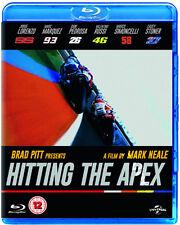 Hitting the Apex NEW Arthouse Documentary Blu-Ray Disc Mark Neale Brad Pitt