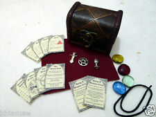 MINIATURE ALTAR KIT pocket travel set wicca wiccan pagan athame chalice spell