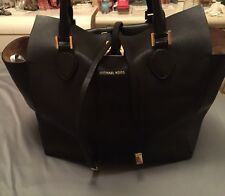 Michael Kors black miranda handbag size large